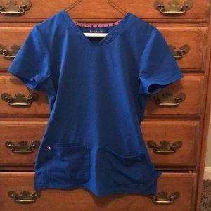 HeartSoul blue scrub set